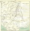 ALPES-MARITIMES: Cannes: East, 1913 map
